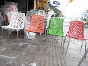 chuyên sản xuất ghế nhựa cafe