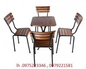 chuên sản xuất bàn ghế nhà hàng quán cafe nhựa đúc nhựa giả mây gỗ giá siêu rẻ