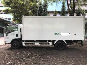 Xe tải cũ isuzu 3t4 thùng kín compozit đời 2016