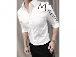 Áo sơ mi thời trang nam chữ Martine