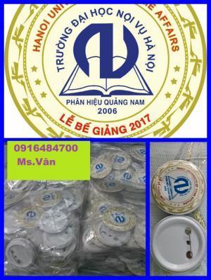 In huy hiệu nhôm nhựa sự kiện quảng cáo tại Đà nẵng