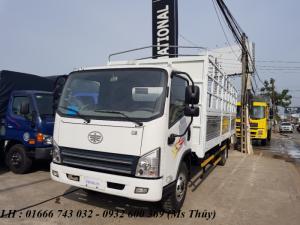 Xe tải faw 7T3 thùng dài 6m2 máy Huyndai giá tốt