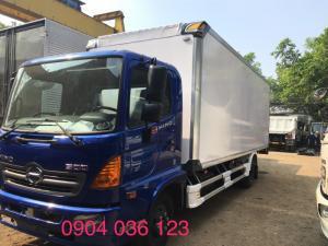 xe tải hino 6t thùng bảo ôn, xe tải bảo ôn hino 6t, xe tải hino fc bảo ôn