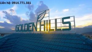 Bán 2 lô góc - lô biệt thự view sông KDT Golden Hills
