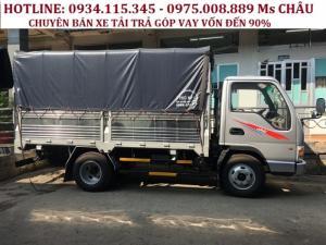 Giá xe tải jac 2.4 Tấn ( jac 2T4 ) jac 2tan4 trả góp đến 90% giá tốt.