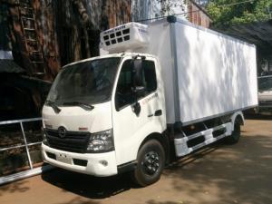 xe tải hino thùng đông lạnh 3t5, xe tải hino xzu720 đông lạnh t3000