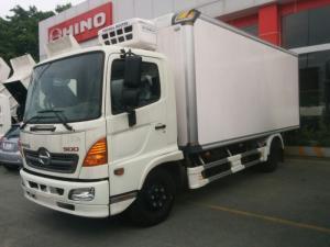 xe tải hino đông lạnh 6t, xe tải đông lạnh hino máy lạnh t3500