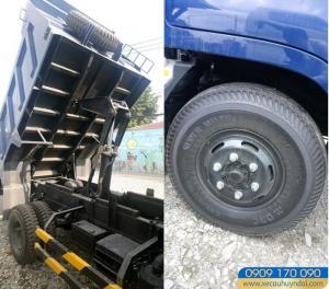 xe tải Hyundai HD99 6.1 Tấn Thùng Ben