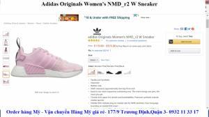 Giày Adidas chính hãng nhập từ Mỹ giá rẻ
