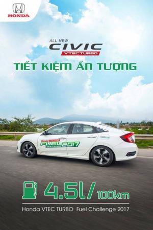 Bán ôtô Honda Civic 1.5 VTEC TURBO