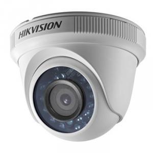 Camera HDTVI Dome Hikvision DS-2CE56D0T-IRP (Dạng vỏ nhựa) độ phân giải 2.0 megapixel, hồng ngoại thông minh Smart IR, tầm xa 20m, hỗ trợ chống nước tiêu chuẩn IP66, phù hợp lắp đặt trên trần nhà ở các khu vực văn phòng, nhà ở, chung cư, shop, bệnh viện, nhà sách