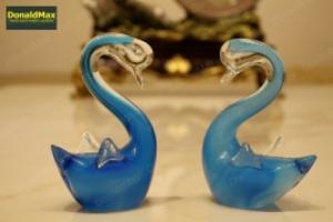Dercor - thiên nga thủy tinh xanh (nhỏ)
