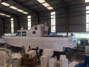 Nhựa PPC đóng tàu thủy cho Bộ Quốc Phòng