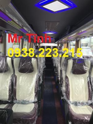 Giá xe 29 chỗ bầu hơi universe mini thaco tb85 mới nhất