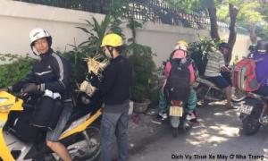 cho thuê xe mô tô, xe đạp tại Nha Trang