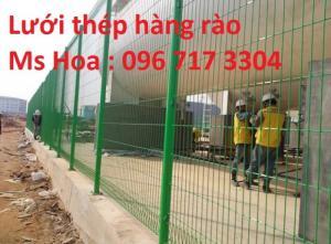 Lưới thép hàng rào, Lưới hàng rào mạ kẽm, Nhà sản xuất lưới thép hàng rào