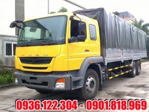Xe tải Fuso 15 tấn FJ thùng mui bạt - Hỗ trợ...