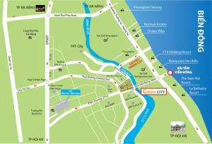 Bán 2 lô đất mặt tiền 33m tại dự án siêu hot siêu lợi nhuận Green city cách biển 500m