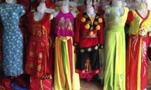nhận cho thuê trang phục biểu diễn noel