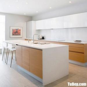 Tủ bếp chất liệu Laminate cao cấp – TBN0066