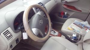 Xe ô tô toyota altis 2009 màu đỏ đô