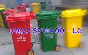 Mua thùng rác 240 lít,thùng rác nhựa HDPE 240 lít, giá thùng rác nhựa 120 lít, thùng rác composite 120 lít
