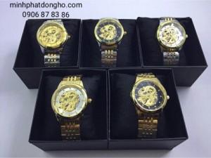 Xả hàng cuối năm đồng giá 699k - đồng hồ rồng vàng