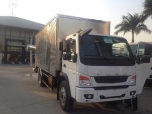 Giá xe tải Mitsubishi Fuso FI 7T3, xe tải fuso 7T thùng mui bạt, fuso 7T nhập khẩu chất lượng Nhật Bản