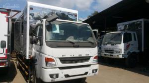 Xe tải Fuso tải trọng 7.2, phun điện tử, rất tốt - hỗ trợ vay vốn ngân hàng,giá xe Fuso tốt nhất Tây Ninh