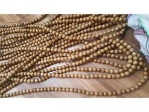 Chuỗi 108 hạt 12 li gỗ bách xanh, cẩm