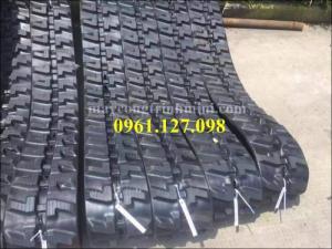 Xích cao su máy xúc Yanmar - kobuta , xích cao su 300x52.5x80