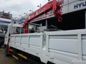 Xe tải Jac 8350 Kg gắn cấu giá rẻ nhất  thị trường giá chỉ 970 triệu tại Bình Dương