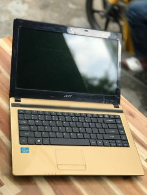 Laptop Acer Aspire 4752 , i5 2430M 4G 320G màu gold đẹp zin 100% Giá rẻ