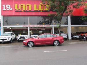 Audi A6 2013 màu đỏ