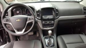 Bán Chevrolet Captiva LTZ Revv 2.4AT màu đen vip số tự động sản xuất 2016 biển Sài Gòn