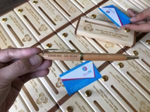 Hộp - Bút gỗ giá rẻ - Chất liệu Gỗ Maple