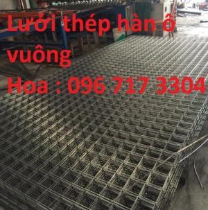 Lưới thép hàn D4,D5,d6,D7,D8,D9,D10,D11,D12