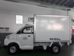 Xe tải Suzuki 750kg thùng đông lạnh, Bán xe trả góp.