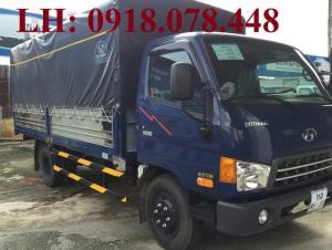Xe tải Hyundai HD99 thùng dài 4m9 - thùng mui bạt