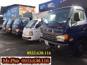 Bán xe tải Đô Thành 2,4 tấn vào thành phố giá rẻ.