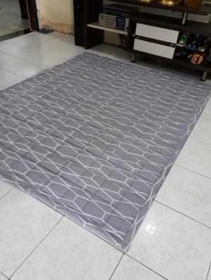 Nệm trải sàn cotton lụa 160*200cm