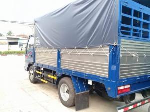 Bán xe Jac 2400kg,thùng dài 3m720,xe có máy lạnh.