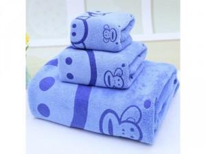 Bộ 3 khăn tắm, gội, rửa mặt siêu mềm mịn