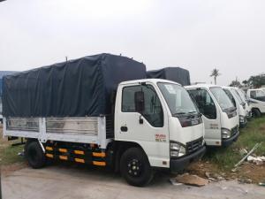 Xe 2,2  Tấn Isuzu QKR55H, thùng mui bạt, Nâng tải - Hỗ trợ vay đến 85%, Giao xe ngay