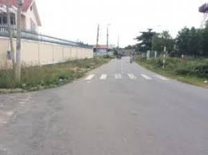 bán gấp miếng đất 250 m2 (10 dài 25) đất thị trấn đức hòa long an mặt tiền đường tl 824