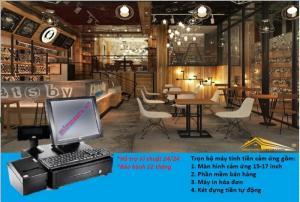 Trọn bộ máy bán hàng cảm ứng giá rẻ nhất tại muabannhanh.com