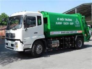 xe ép rác dongfeng, 8 khối nhập khẩu, cho vay nhanh chóng