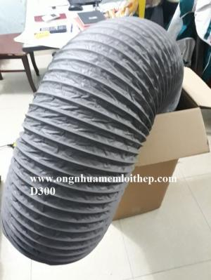 Ống gió Mềm vải Hàn quốc Tapaulin phi 300, phi 450 hàng có sẵn chất lượng cao tại hà nội