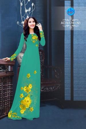 Vải áo dài Hoa Mai AD N1741