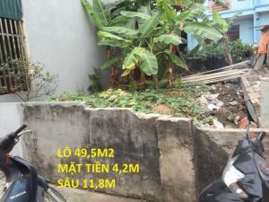 Bán đất Tiên kha 49,5m2
